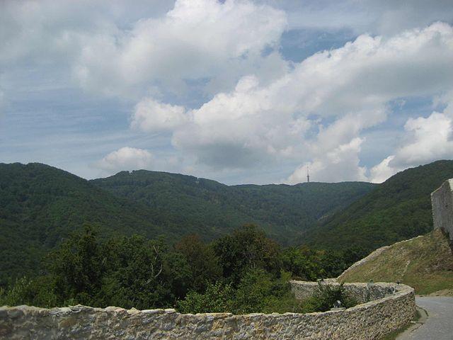 pohoří Chorvatska