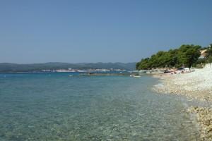 Orebić,_pláž