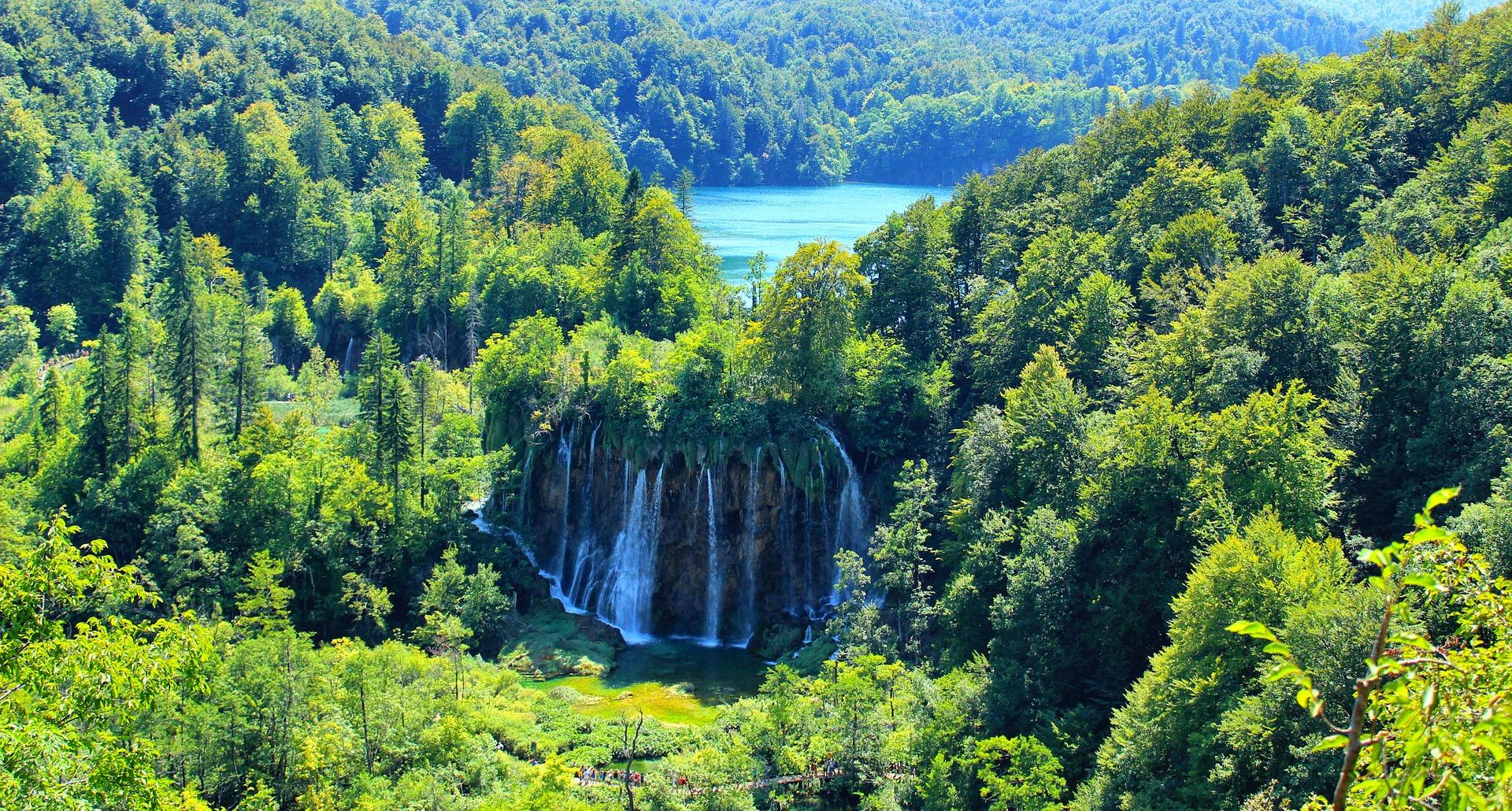 plitvice a dovolená v chorvatsku
